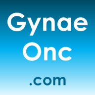 Website logo for gynaeonc.com